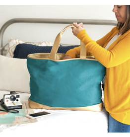 The Ritzy Gypsy CABANA Teal Tote