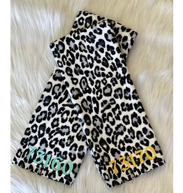 The Ritzy Gypsy Zip Code Leopard Towel