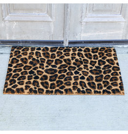 The Ritzy Gypsy LEOPARD Coir Door Mat