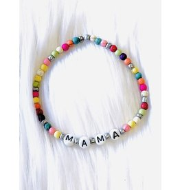 The Ritzy Gypsy MAMA Multi Stretch Bracelet