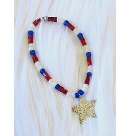 The Ritzy Gypsy FREEDOM Stretch Bracelet with Star