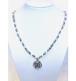 The Ritzy Gypsy REFLECT Beaded Necklace with Charm