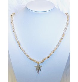 The Ritzy Gypsy STAR STRUCK Beaded Necklace with Charm