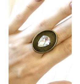 The Ritzy Gypsy JEWEL Adjustable Ring