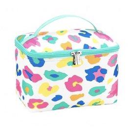 The Ritzy Gypsy FUN LEOPARD Cosmetic Bag