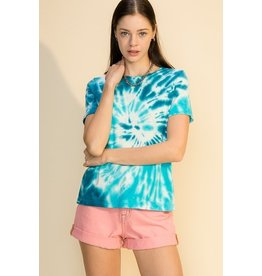 The Ritzy Gypsy TO DYE FOR Spiral Tie Dye Tee