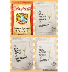 The Ritzy Gypsy POTATO SOUP & REAL HOUSEWIVES TOWEL SET