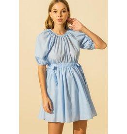 The Ritzy Gypsy CINDERELLA Balloon Sleeve Dress
