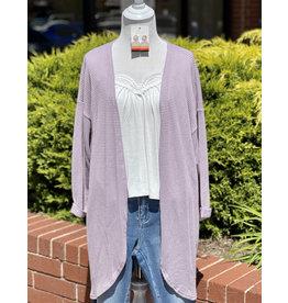 The Ritzy Gypsy Ritzy Gypsy Private Label Cardigan, Lavender