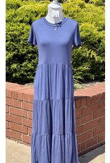 The Ritzy Gypsy ARIA Blue Maxi Dress