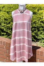 The Ritzy Gypsy MIA Mauve Tie Dye Dress