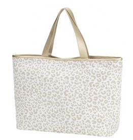 The Ritzy Gypsy ALLY Natural Leopard Tote Bag
