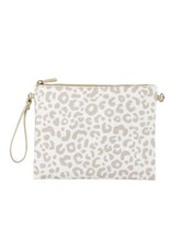 The Ritzy Gypsy HALEY Natural Leopard Purse