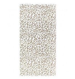 The Ritzy Gypsy NATURAL LEOPARD Towel