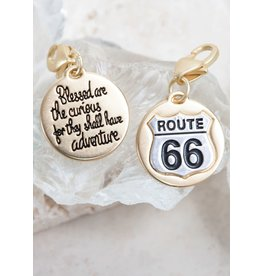 The Ritzy Gypsy ROUTE 66 Medallion