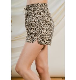 The Ritzy Gypsy BEC Leopard Shorts