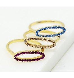 The Ritzy Gypsy DAVIS Crystal Ring