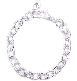 The Ritzy Gypsy Chain Bracelet, Matte Silver