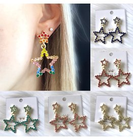 The Ritzy Gypsy ROYAL Star Earring