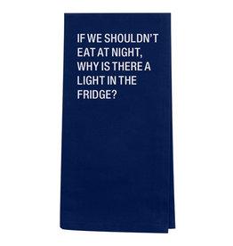The Ritzy Gypsy LIGHT IN THE FRIDGE Tea Towel
