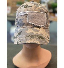 The Ritzy Gypsy BLEND IN Camo Trucker Hat
