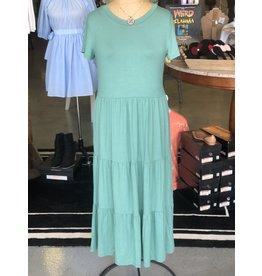 The Ritzy Gypsy ARIA Green Maxi Dress