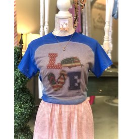The Ritzy Gypsy LOVE JULY Graphic Tee
