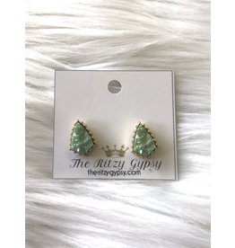 The Ritzy Gypsy PAIGE Stone Earring