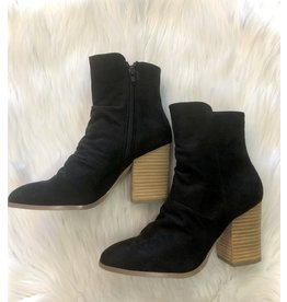 The Ritzy Gypsy BETH High Ankle Black Booties