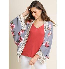 The Ritzy Gypsy CROSSLYN Open Front Kimono