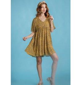 The Ritzy Gypsy LINDY Short Sleeve Babydoll Dress