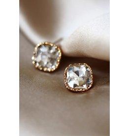 The Ritzy Gypsy CHLOE Crystal Stud Earring