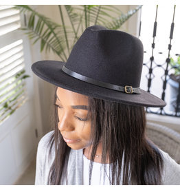 The Ritzy Gypsy JOSIE black fedora hat