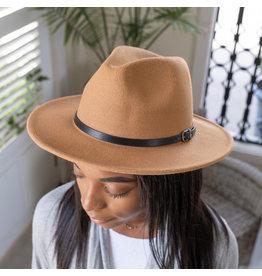 The Ritzy Gypsy JOSIE brown fedora hat