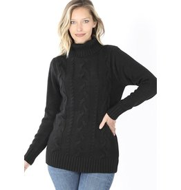 The Ritzy Gypsy ENVY Chunky Turtleneck Sweater
