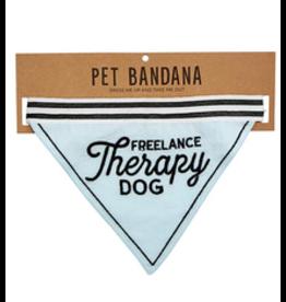 Santa Barbara PET BANDANA-FREELANCE THERAPY DOG