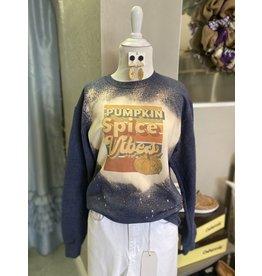 The Ritzy Gypsy PUMPKIN SPICE VIBES sweatshirt