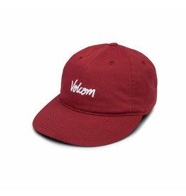 VOLCOM VOLCOM Volscripto Hat Burgundy