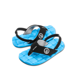 VOLCOM VOLCOM Recliner Sandal Little Youth Marina Blue