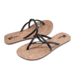 VOLCOM VOLCOM All Night Long Sandal Black