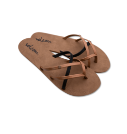 VOLCOM VOLCOM New School Sandal Brown Combo