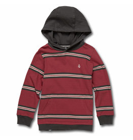 VOLCOM VOLCOM Beauville Long Sleeve Hooded Burgundy