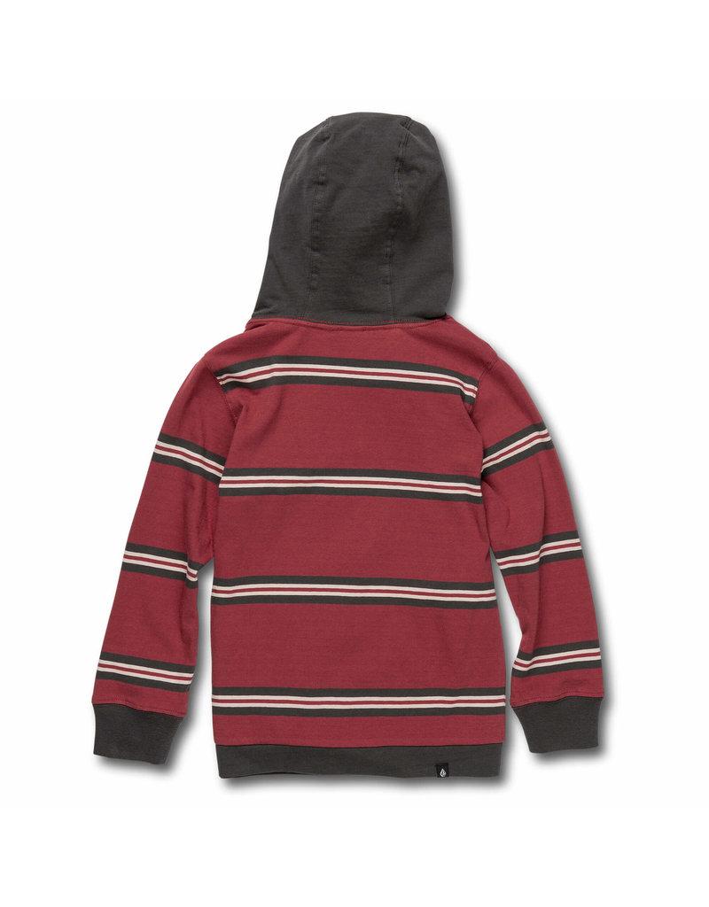 VOLCOM VOLCOM Beauville Long Sleeve Hooded Burgundy