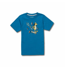 VOLCOM VOLCOM Volcom Dog S/S Tee Youth Bright Blue
