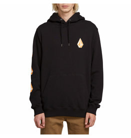 VOLCOM VOLCOM Deadly Stone Pull Over Hoodie Black