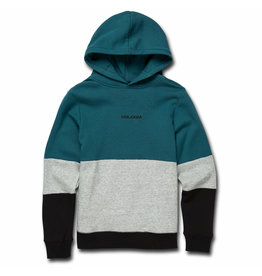 VOLCOM VOLCOM Single Stone Division Pull Over Hoodie Teal