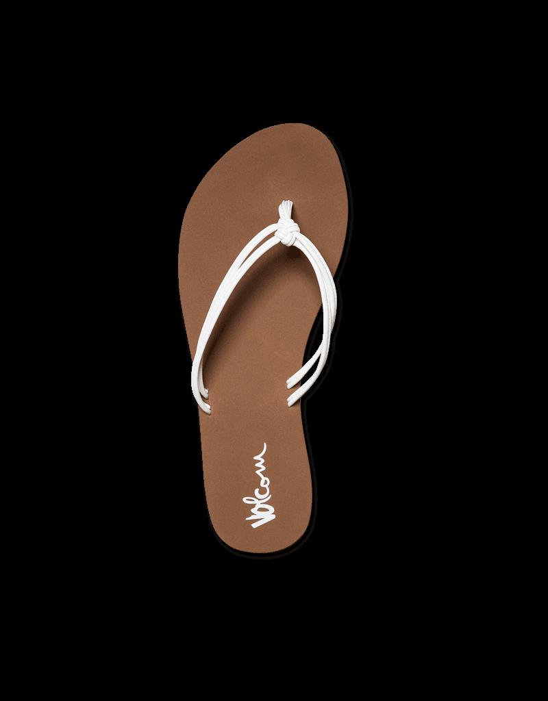VOLCOM VOLCOM Forever And Ever Sandal White