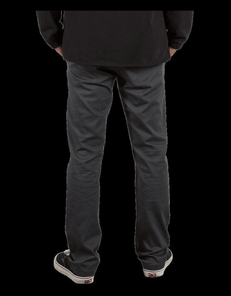 VOLCOM VOLCOM Frickin Modern Stretch Chino Pants Charcoal