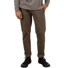 VOLCOM VOLCOM Frickin Modern Stretch Chino Pants Mushroom
