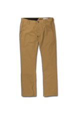 VOLCOM VOLCOM Frickin Modern Stretch Chino Pants Dark Khaki